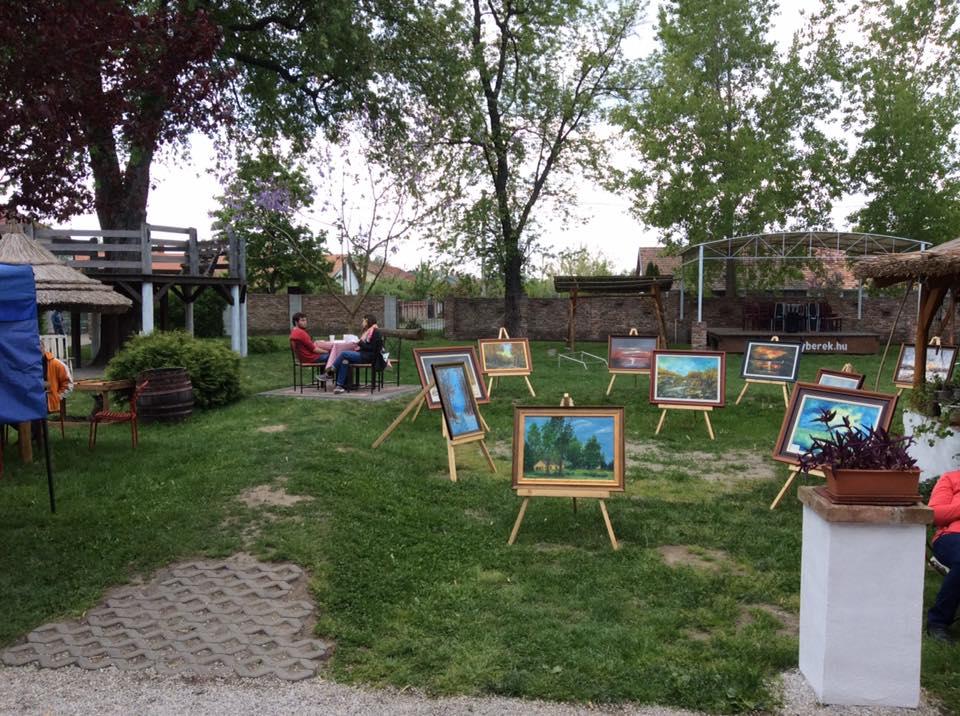 Nagy Tamás festményei (Balatonfenyves)